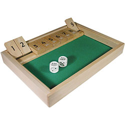 Shut The Box Game Price: $17.95
