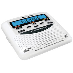 Weather Alert Radio with S.A.M.E. Local Alerts - click to view larger image