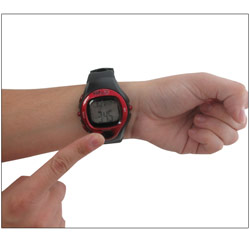 GNC Heart Rate Monitor Watch Price: $35.95