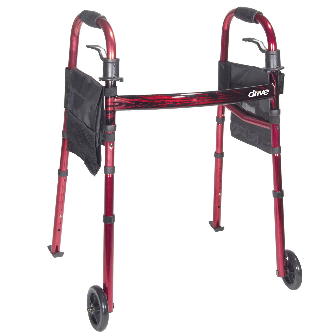 Drive Deluxe Folding Travel Walker Price: $95.95