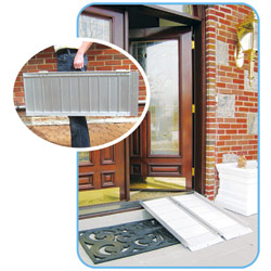 Drive Wheelchair Ramp - Single-Fold: 4 Feet Price: $208.00