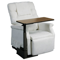 Deluxe Seat Lift Chair Overbed Table Price: $227.99