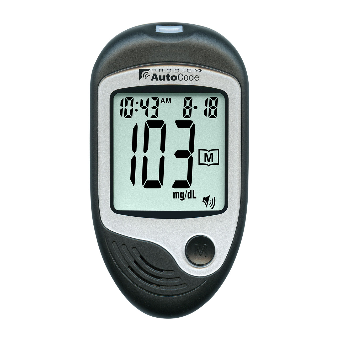 Prodigy AutoCode Talking Blood Glucose Monitoring Kit: Bilingual - English or Spanish Price: $29.95