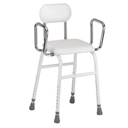 Kitchen Stool with Adjustable Arms Price: $74.95