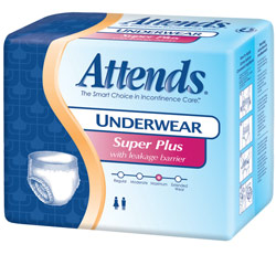Attends Protective Underwear-SuperPlus-Small-80-cs Price: $49.95
