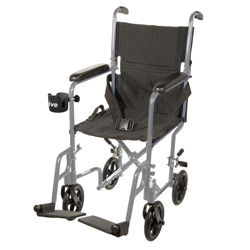 Drive Deluxe Lightweight Transport Chair- Silver Price: $149.95