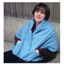 Polar Fleece Shawl - Shoulder Cozy Price: $16.99
