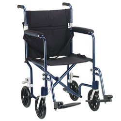 Designer Flyweight Aluminum Transport Chair 17 inches Price: $219.95