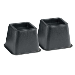 Bed and Chair Risers - One Pair - 4-inch Price: $12.95