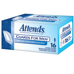 Attends Guards for Men- Unisize -64-cs Price: $45.00