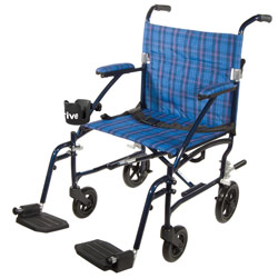Drive Fly Lite Lightweight Transport Chair- Blue Price: $199.95