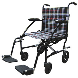 Drive Fly Lite Lightweight Transport Chair- Black Price: $230.55