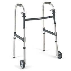Walker Dual Release with 5in Fixed Wheels Price: $84.95