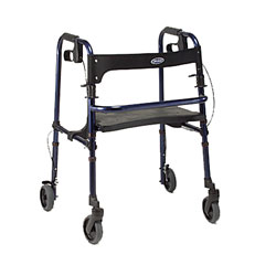 invacare Rollite Rollator -4 Wheeled Blue (1565100) at Sears.com