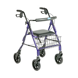 Invacare Four Wheel Rollator Price: $129.95