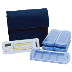 7 Day Medication Organizer System with Multi-Alarm Price: $69.95