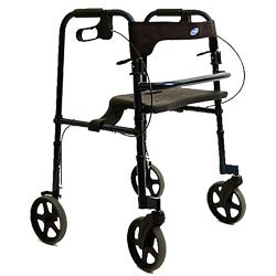 Rollite Rollator Tall Adult- Midnight Blue Price: $179.95