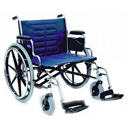 Invacare IVC Tracer IV Wheelchair w-Legrest- BLUE - click to view larger image