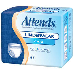 Attends Protective Underwear-Extra- XL -56-cs Price: $47.95