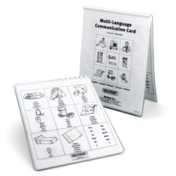 Multi-Language Communication Cards - click to view larger image