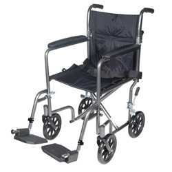 Drive Lightweight Transport Chair- 17-in. Seat Price: $129.95