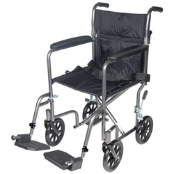 Drive Lightweight Transport Chair- 19-in. Seat Price: $129.95