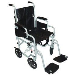 Poly-Fly Wheelchair-Transport Chair Combo-18-in Seat Price: $369.95