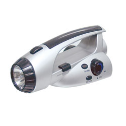 Dynamo Powered LED Flashlight/FM Radio Price: $14.95