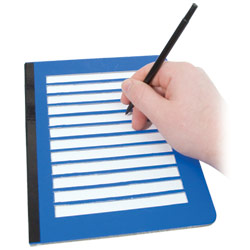 Fold-Over Low Vision Note Writing Frame Price: $11.95