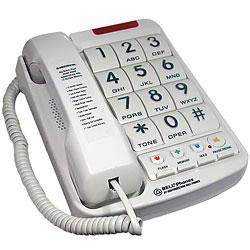 Big Button Phone w/Braille Price: $29.70