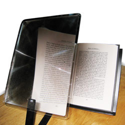 Prop It Bookrest and Copyholder with 2x Page Magnifier Price: $29.95
