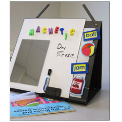 PROP IT 10-in-1 Portable Literacy and Speech Easel - click to view larger image