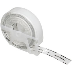 Reizen Transparent Vinyl Labeling Tape (9 rolls plus 1 free) Price: $15.95