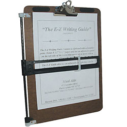 The E-Z Writing Guide Price: $29.95
