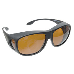 Solar Shield Fits Over Sunglasses - Copper Price: $24.95