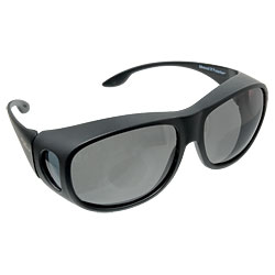 Solar Shield Fits Over Sunglasses - Gray Price: $24.95