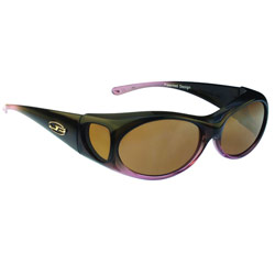 Fitovers Sunglasses - Aurora - Midnight Oil-Amber Price: $59.99
