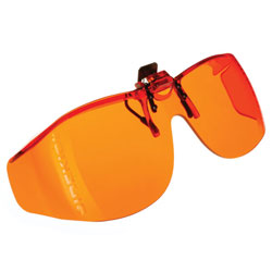 Live Eyewear Cocoons Sidekick XL Flip-Up Sunglasses-Orange (253200) at Sears.com