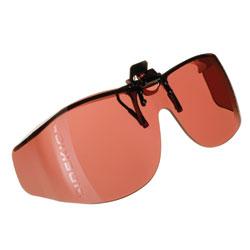 Live Eyewear Cocoons Sidekick XL Flip-Up Sunglasses-Boysenberry (253202) at Sears.com