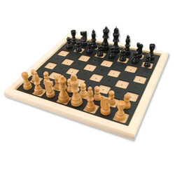 Deluxe Chess and Checkers Set - click to view larger image