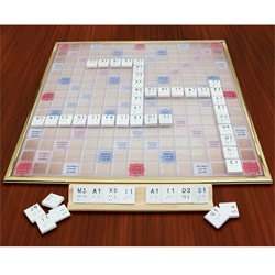 Deluxe Scrabble Game: Braille Version Price: $49.95