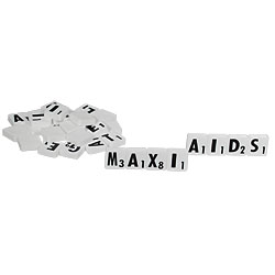 Scrabble Tiles for Low Vision Price: $12.95