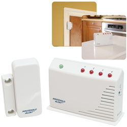Door and Window Alert: Sensor-Receiver Kit Price: $46.95