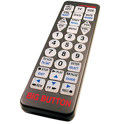 Big Button Remote Control Price: $22.95