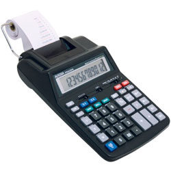 12- Digit Printing Calculator AC-DC Price: $49.95