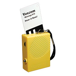 VOXCOM III (with 100 Re-Recordable Plastic Cards) Price: $124.95