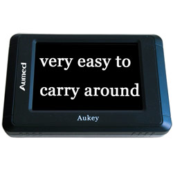 Aukey Portable Video Magnifier: 1.9x and 13.6x Price: $275.00