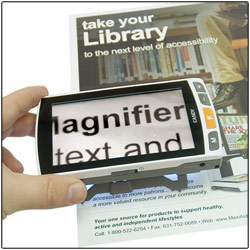 Candy Portable Video HD Magnifier - 1.5x-22x