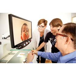 LookStation Desktop Video Magnifier-22-in.- 4x-50x