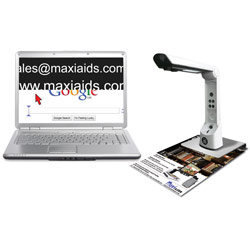 PC-Eye Compact Desktop Electronic Magnifier-4x-12x Price: $995.00